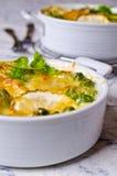 Casserole with zucchini Royalty Free Stock Photo