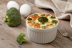 Casseruola dei broccoli Immagine Stock Libera da Diritti