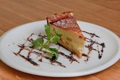 Casseruola del formaggio Immagine Stock