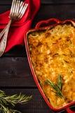 casseruola della Patata-cipolla Fotografie Stock