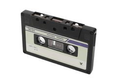 Cassete áudio Imagem de Stock Royalty Free