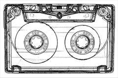 Cassete áudio Imagem de Stock