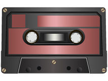 Cassete áudio Imagens de Stock