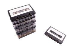 Cassete áudio Fotografia de Stock Royalty Free