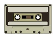 Cassete áudio Imagens de Stock Royalty Free