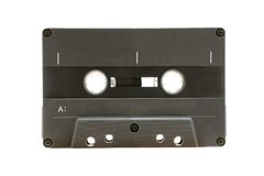 Cassete áudio cinzenta Fotos de Stock