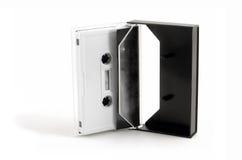 Cassete áudio (música 03) Foto de Stock Royalty Free