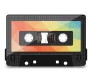 Cassete áudio velha Imagens de Stock Royalty Free