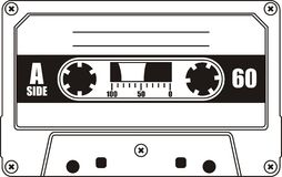 Cassete audio Imagenes de archivo