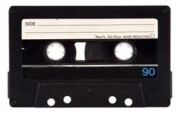 Cassete de banda magnética do vintage Fotos de Stock