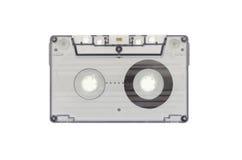 A cassete de banda magnética transparente azul Fotografia de Stock Royalty Free