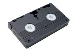 Cassete de banda magnética video Fotografia de Stock