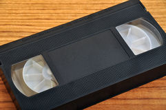 Cassete de banda magnética video Foto de Stock Royalty Free