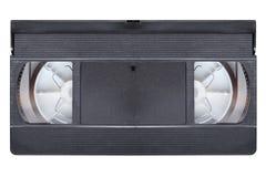 Cassete de banda magnética video do VCR imagens de stock