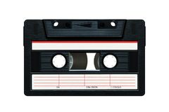Cassete de banda magn?tica foto de stock royalty free