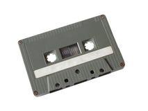 Cassete de banda magnética cinzenta Fotografia de Stock