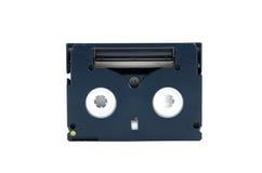 Cassete op wit wordt geïsoleerd dat Stock Fotografie