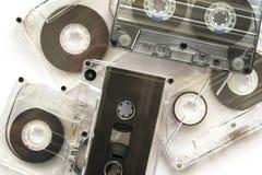 Cassetes áudio Imagem de Stock