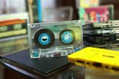 Cassetes áudio imagens de stock