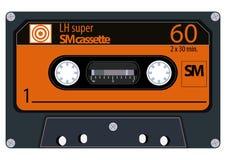 Cassetes áudio do vintage Fotos de Stock