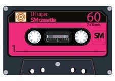 Cassetes áudio do vintage ilustração royalty free