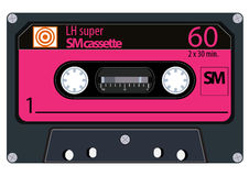 Cassetes áudio do vintage Imagens de Stock