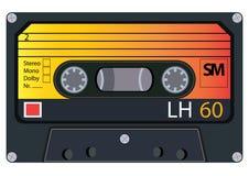 Cassetes áudio do vintage Foto de Stock