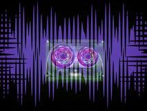 Cassetes áudio para o registrador Imagem de Stock Royalty Free