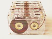 Cassetes áudio para o registrador Fotos de Stock