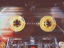 Cassetes áudio para o registrador Imagens de Stock Royalty Free