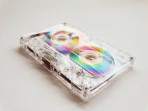 Cassetes áudio para o registrador Foto de Stock