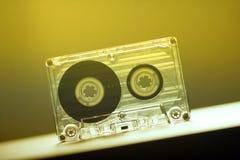 Cassetes áudio para o vintage da dança do partido do registrador imagens de stock royalty free