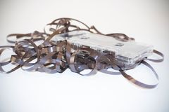 Cassetes de banda magnética Fotografia de Stock