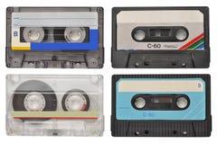 Cassetes de banda magnética Fotos de Stock