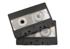 Cassetes de banda magnética Foto de Stock