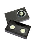 Cassetes de la videocinta - formato beta imagen de archivo