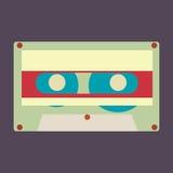 Cassetta audio di vettore royalty illustrazione gratis