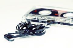 Cassetta audio rotta Fotografia Stock