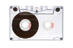 Cassetta audio traslucida Immagini Stock Libere da Diritti
