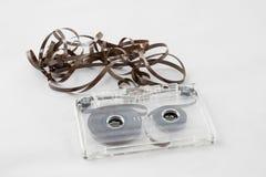 Cassetta, cercante i vecchi pezzi a partire dagli anni 70 Fotografia Stock