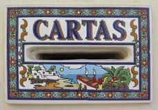 Cassetta della posta spagnola Fotografia Stock Libera da Diritti