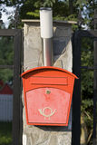 Cassetta delle lettere Fotografia Stock