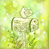 Cassetta delle lettere illustrazione vettoriale