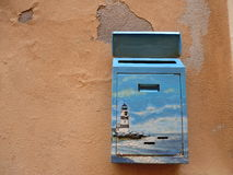 Cassetta delle lettere caratteristica Fotografie Stock