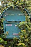 Cassetta delle lettere con la regione selvaggia Fotografia Stock Libera da Diritti