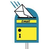 Cassetta delle lettere del email Immagini Stock Libere da Diritti