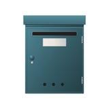 Cassetta delle lettere del metallo Fotografia Stock