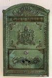Cassetta delle lettere dell'ufficio postale Immagini Stock Libere da Diritti