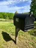 Cassetta delle lettere della Nuova Inghilterra Immagini Stock