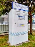 Cassetta delle lettere della posta di Singapore Fotografia Stock Libera da Diritti
